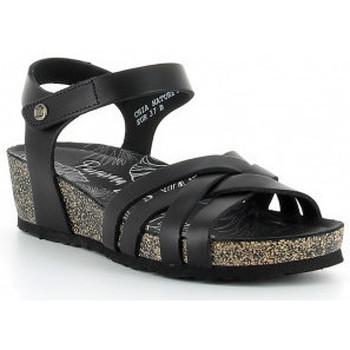 Zapatos Mujer Sandalias Panama Jack CHIA NATURE B2 negro Noir