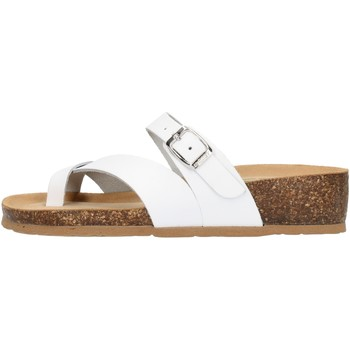Zapatos Mujer Zuecos (Mules) Bionatura 12A456IBYCBIA blanco