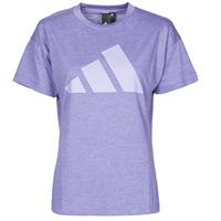 textil Mujer Camisetas manga corta adidas Performance WEWINTEE Orbita / Violeta / Mel