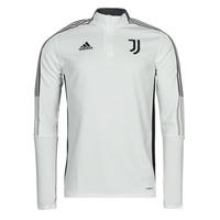textil Chaquetas de deporte adidas Performance JUVE TR TOP Blanco / Esencial