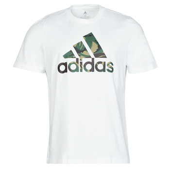 textil Hombre Camisetas manga corta adidas Performance M CAMO T Blanco