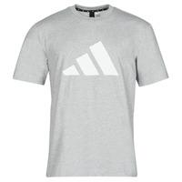 textil Hombre Camisetas manga corta adidas Performance M FI 3B TEE Bruyère / Gris / Medio