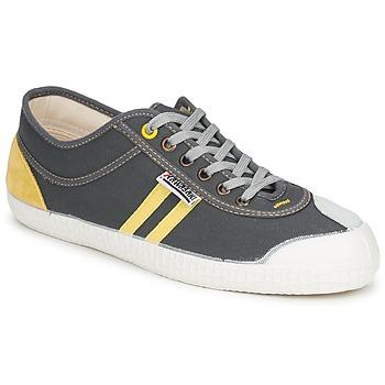 Zapatos Zapatillas bajas Kawasaki RETRO Gris / Amarillo