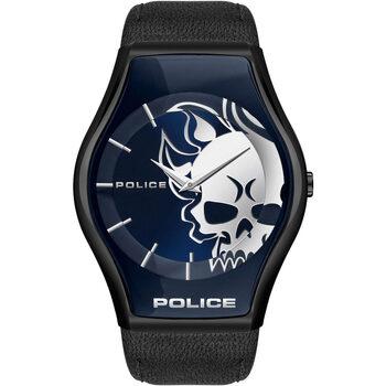 Relojes & Joyas Hombre Relojes analógicos Police PEWJA2002302, Quartz, 45mm, 3ATM Negro