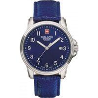 Relojes & Joyas Hombre Relojes analógicos Swiss Alpine Military Swiss Military 7011.1535, Quartz, 40mm, 10ATM Plata