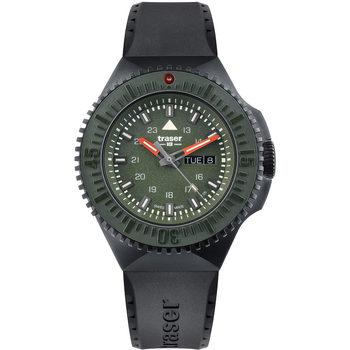 Relojes & Joyas Hombre Relojes analógicos Traser H3 Traser 109859, Quartz, 46mm, 20ATM Negro