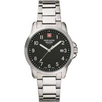 Relojes & Joyas Hombre Relojes analógicos Swiss Alpine Military Swiss Military 7011.1137, Quartz, 40mm, 10ATM Plata