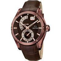 Relojes & Joyas Hombre Relojes analógicos Jaguar J680/A, Quartz, 45mm, 10ATM Marrón