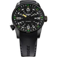 Relojes & Joyas Hombre Relojes analógicos Traser H3 Traser 109741, Automatic, 46mm, 10ATM Negro
