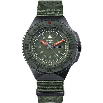 Relojes & Joyas Hombre Relojes analógicos Traser H3 Traser 109858, Quartz, 46mm, 20ATM Negro