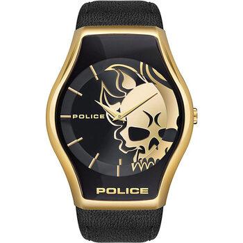 Relojes & Joyas Hombre Relojes analógicos Police PEWJA2002301, Quartz, 45mm, 3ATM Oro
