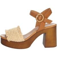 Zapatos Mujer Sandalias Elisa Conte COLLY Beige