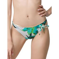 textil Mujer Bañador por piezas Luna Bas maillot slip de bain 3 cm Lily  Splendida Verde