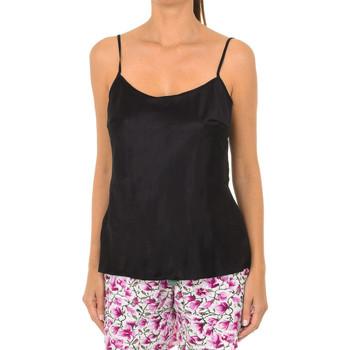 Ropa interior Mujer Camiseta interior DIM Camiseta raso de tirantes Lovable. Negro