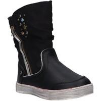 Zapatos Niña Botas de caña baja Urban 196048-B2040 Negro