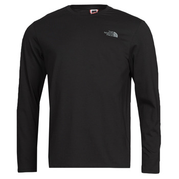 textil Hombre Camisetas manga larga The North Face L/S EASY TEE Negro