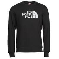 textil Hombre Sudaderas The North Face DREW PEAK CREW Negro / Blanco