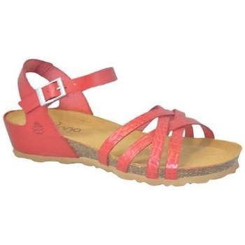 Zapatos Mujer Sandalias Yokono MONACO-045 Rojo