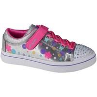 Zapatos Niños Derbie & Richelieu Skechers Twilites Plateado