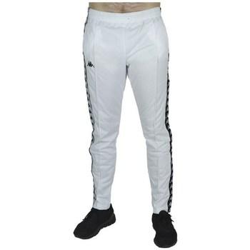 textil Hombre Pantalones Kappa Banda Astoria Snaps Blanco
