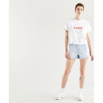 textil Mujer Camisetas manga corta Levi's Strauss CAMISETA GRAPHIC VARSITY LEVIS MUJER Multicolor