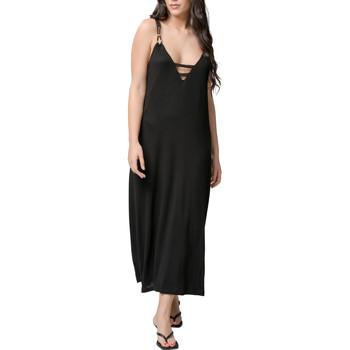 textil Mujer Vestidos largos Luna Robe longue estivale Star noir  Splendida Pearl Black