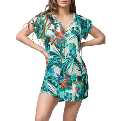 textil Mujer Vestidos cortos Luna Vestido de playa corto Lily  Splendida Verde
