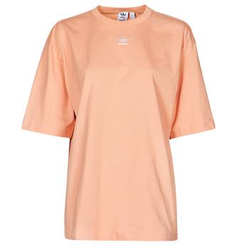 textil Mujer Camisetas manga corta adidas Originals TEE Blush / Ambiente