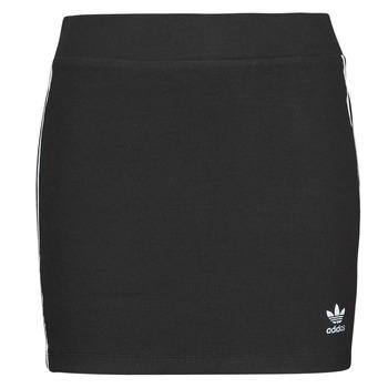 textil Mujer Faldas adidas Originals 3STRIPES SKIRT Negro