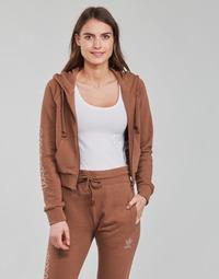 textil Mujer Sudaderas adidas Originals CROPPED TT Marrón