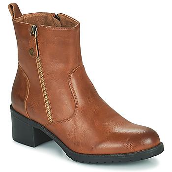 Zapatos Mujer Botines Chattawak ALTA Camel