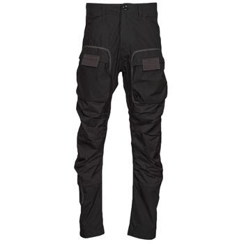 textil Hombre Pantalón cargo G-Star Raw 3D STRAIGHT TAPERED CARGO Negro