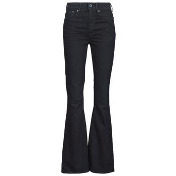 textil Mujer Vaqueros bootcut G-Star Raw 3301 FLARE Azul