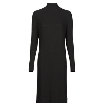 textil Mujer Vestidos largos G-Star Raw RIB MOCK SLIM DRESS Negro