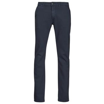 textil Hombre Pantalones chinos Le Temps des Cerises JHKURT Azul