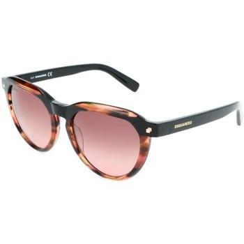 Relojes & Joyas Mujer Gafas de sol Dsquared - DQ0287 Marrón
