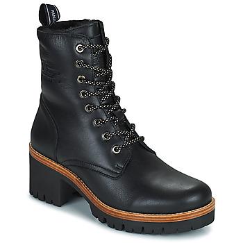 Zapatos Mujer Botas de caña baja Panama Jack PADMA Negro