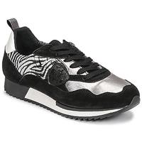 Zapatos Mujer Zapatillas bajas Philippe Morvan ROX Negro / Plata