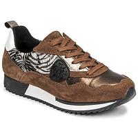 Zapatos Mujer Zapatillas bajas Philippe Morvan ROXA Marrón / Negro