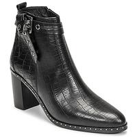 Zapatos Mujer Botas urbanas Philippe Morvan BERRYS Negro
