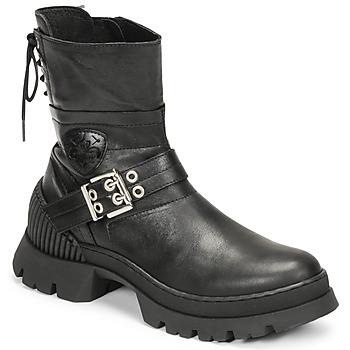 Zapatos Mujer Botas de caña baja Philippe Morvan CAMIX Negro