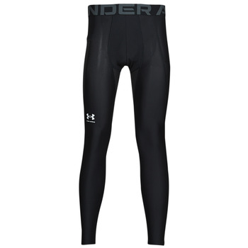 textil Hombre Leggings Under Armour UA HG ARMOUR LEGGINGS Negro / Blanco