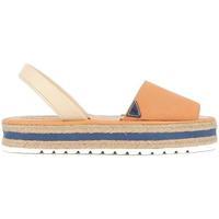 Zapatos Mujer Sandalias Float Walking 2116 CUERDA Naranja