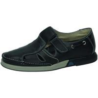 Zapatos Hombre Sandalias Bartty Sandalias de piel MARINO