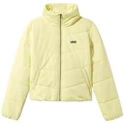 textil Mujer Plumas Vans Casaco  WM Foundry V Puffer Mte Yellow Pear