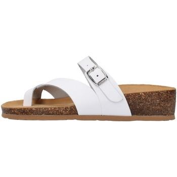 Zapatos Mujer Zuecos (Mules) Bionatura 12A456 BLANCO