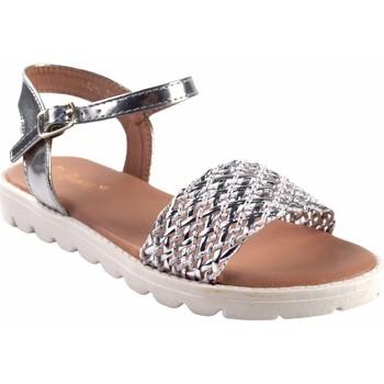 Zapatos Niña Multideporte Bubble Bobble Sandalia niña  a2942 plata Plata