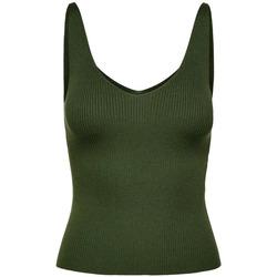textil Mujer Camisetas sin mangas Jacqueline De Yong  Verde
