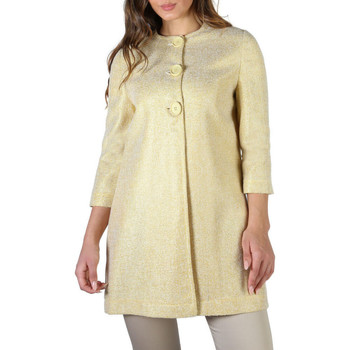 textil Mujer Abrigos Fontana - amber Amarillo