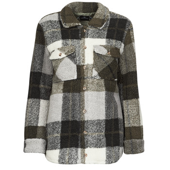 textil Mujer Chaquetas / Americana Volcom SILENT SHERPA JACKET Negro